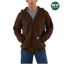 Midweight Hooded Zip-Front Sweatshirt by Carhartt
