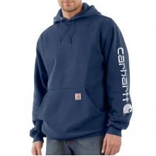 Midweight Hooded Logo Sweatshirt by Carhartt