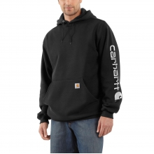 Men's MW Signature Sleeve Logo Swtsh Hdd by Carhartt