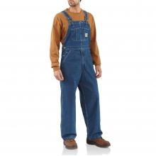 Washed Denim Bib Overall/Unlined by Carhartt