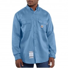 Flame-Resistant Lightweight Twill Shirt by Carhartt