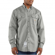 Flame-Resistant Twill Shirt with Pocket Flap by Carhartt in Lafayette CO
