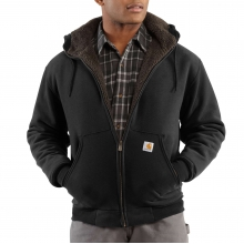 Collinston Brushed Fleece Sherpa-Lined Sweatshirt by Carhartt