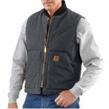 Sandstone Vest / Arctic Quilt Lined by Carhartt in Seward Ak