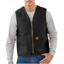 Sandstone Rugged Vest / Sherpa Lined by Carhartt