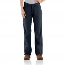 Flame-Resistant Loose Fit Midweight Canvas Jean by Carhartt