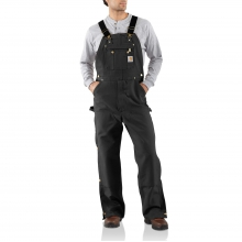 Duck Zip-To-Thigh Bib Overall/Unlined by Carhartt