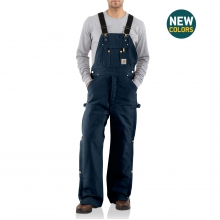 M Quilt Lined Zip To Thigh Bib Overalls by Carhartt