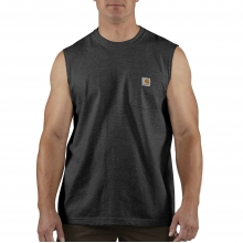 Workwear Pocket Sleeveless T-Shirt by Carhartt