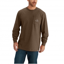 Workwear Graphic Patch Long-Sleeve T-Shirt by Carhartt