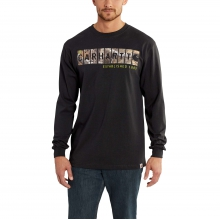 Workwear Graphic Camo Block Logo Long-Sleeve T-Shirt by Carhartt