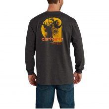 Workwear Graphic Time to Earn That Buck Long-Sleeve T-Shirt by Carhartt