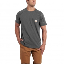 Men's Force Cotton Delmont SS T Shirt Rlxd Fit by Carhartt in Sheridan CO