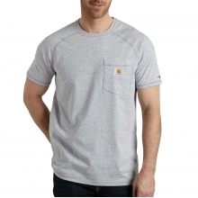 Men's Force Cotton Delmont SS T Shirt Rlxd Fit by Carhartt