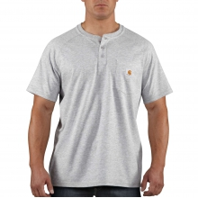 Force® Cotton Delmont Short-Sleeve Henley by Carhartt