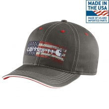 Distressed Flag Graphic Cap by Carhartt