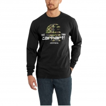 Lubbock Graphic Filled Flag LS TShirt by Carhartt