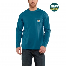 Force® Cotton Delmont Long-Sleeve T-Shirt by Carhartt in Lafayette CO