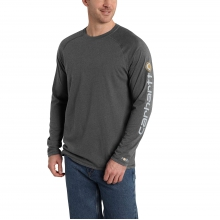 Force® Cotton Delmont Sleeve Graphic Long-Sleeve T-Shirt by Carhartt