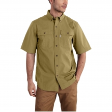 Foreman Solid Short-Sleeve Work Shirt by Carhartt