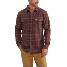 Rugged Flex® Hamilton Snap-Front Plaid Shirt by Carhartt