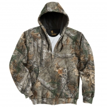 Midweight Realtree Xtra® Camo Hooded Zip-Front Sweatshirt by Carhartt