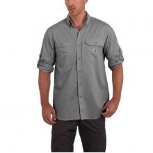 Force® Ridgefield Solid Long Sleeve Shirt by Carhartt