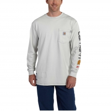 Flame-Resistant Force® Graphic Long-Sleeve T-Shirt by Carhartt