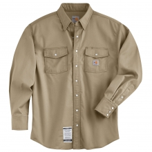Flame-Resistant Snap-Front Shirt by Carhartt