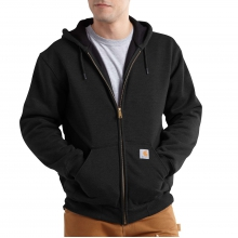 Rain Defender® Rutland Thermal-Lined Hooded Zip-Front Sweatshirt by Carhartt