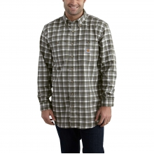 Flame-Resistant Classic Plaid Shirt by Carhartt