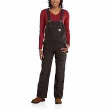 Sandstone Unlined Bib Overalls by Carhartt