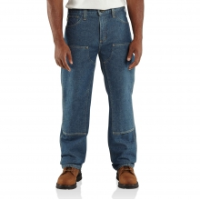 Flame-Resistant Utility Denim Double-Front Jean - Relaxed Fit by Carhartt
