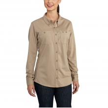 Women's FR Force Cotton Hybrid Shirt by Carhartt