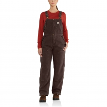 Weathered Duck Wildwood Bib Overalls by Carhartt