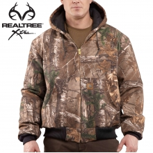 Quilted-Flannel Lined Camo Active Jac by Carhartt
