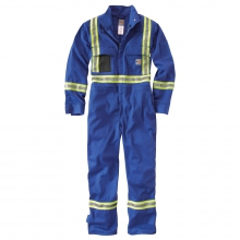 Flame-Resistant Striped Coverall by Carhartt