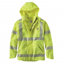 High-Visibility Class 3 Waterproof Jacket by Carhartt