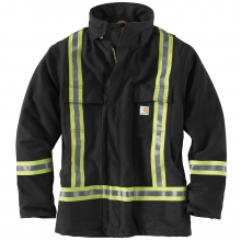 High-Visibility Striped Duck Traditional Coat/Quilt-Lined by Carhartt