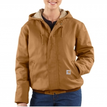 Flame-Resistant Midweight Canvas Active Jac by Carhartt