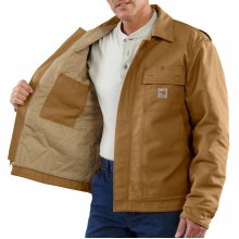 Flame-Resistant Lanyard Access Jacket/Quilt-Lined by Carhartt