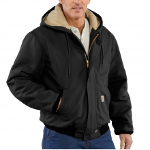 Flame-Resistant Duck Active Jac/Quilt Lined by Carhartt