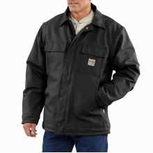 Flame-Resistant Duck Traditional Coat/Quilt-Lined by Carhartt