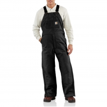 Flame-Resistant Duck Bib Overall/Quilt-Lined by Carhartt