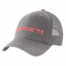 W Cnvs Msh Bck Logo Grphc Cap by Carhartt in Fort Collins CO