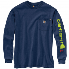 Men's TK130 FR Force Org Fit LS Grphc Tshirt by Carhartt