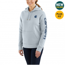 Women's Clarksburg Sleeve Logo Hooded Sweat