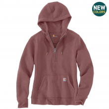 Women's Clarksburg Half Zip Hooded Sweatshirt by Carhartt