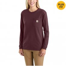 Women's WK126 Workwear Pocket LS Tshirt by Carhartt in Sheridan CO