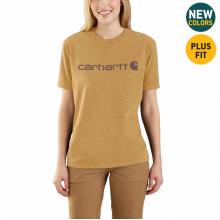 Women's WK195 Workwear Logo SS Tshirt by Carhartt